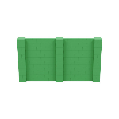 11' x 6' Green Simple Block Wall Kit