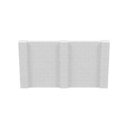 11' x 6' Light Gray Simple Block Wall Kit