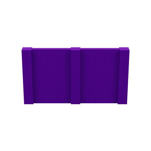 11' x 6' Purple Simple Block Wall Kit