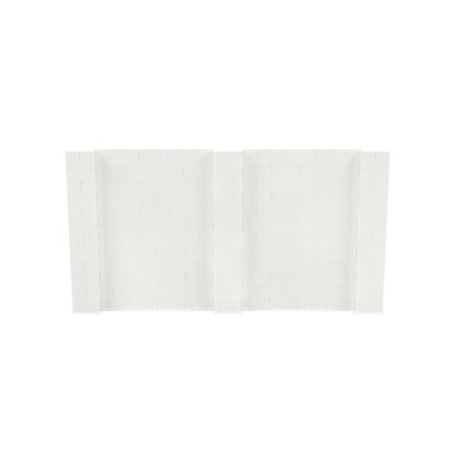 11' x 6' Translucent Simple Block Wall Kit