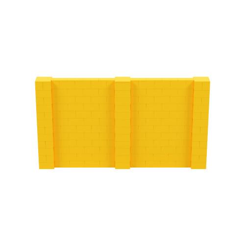 11' x 6' Yellow Simple Block Wall Kit