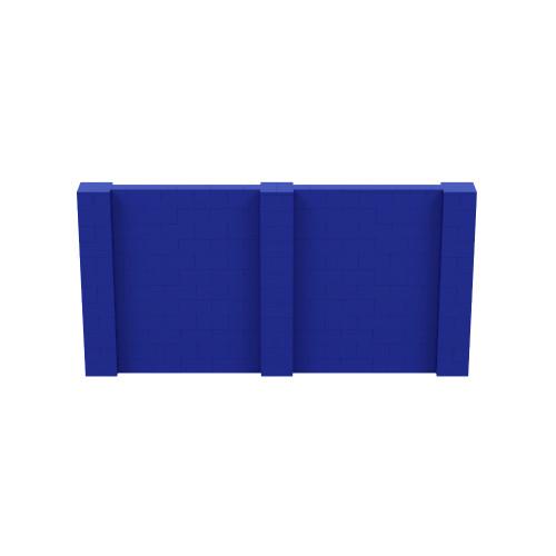 12' x 6' Blue Simple Block Wall Kit