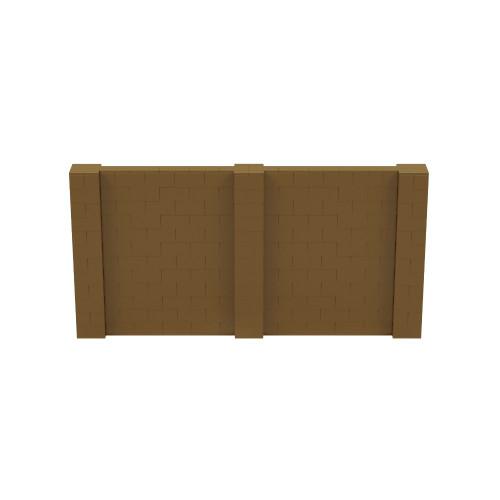 12' x 6' Gold Simple Block Wall Kit