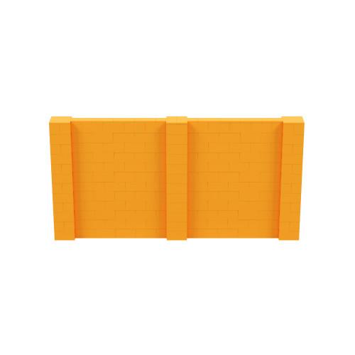 12' x 6' Orange Simple Block Wall Kit