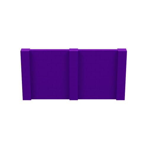 12' x 6' Purple Simple Block Wall Kit