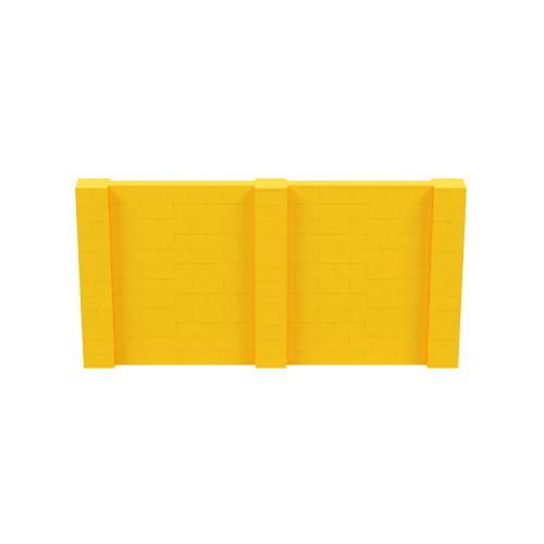 12' x 6' Yellow Simple Block Wall Kit