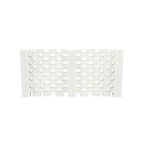 12' x 6' Translucent Open Stagger Block Wall Kit