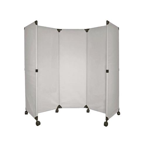 MP10 Economical Folding Portable Partition 6' x 6' Sterling Canvas