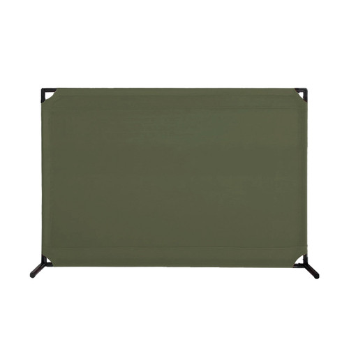 VP4 Two-Position Value Partition 4' x 6' Olive Canvas
