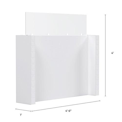 "EverPanel Partition - 4'6"" x 4' x 1' w/ Windows"
