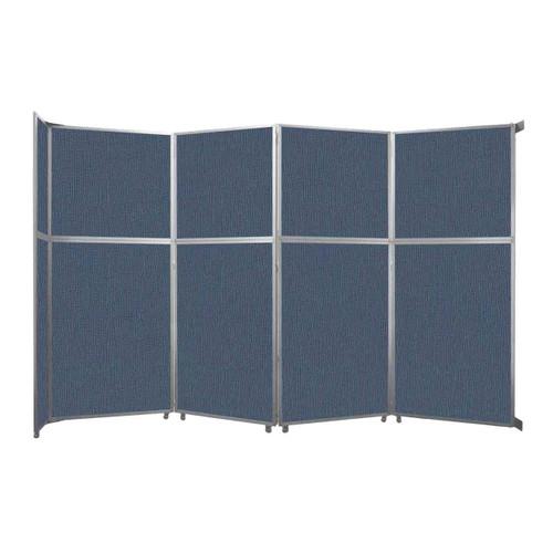 "Operable Wall Folding Room Divider 15'7"" x 10'3/4"" Ocean Fabric"