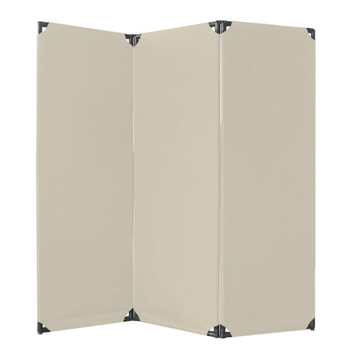 FP6 Economical Privacy Screen 6' x 6' Beige Canvas