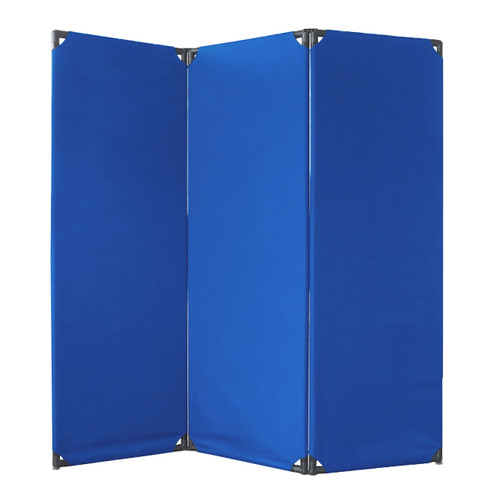 FP6 Economical Privacy Screen 6' x 6' Blue  Canvas