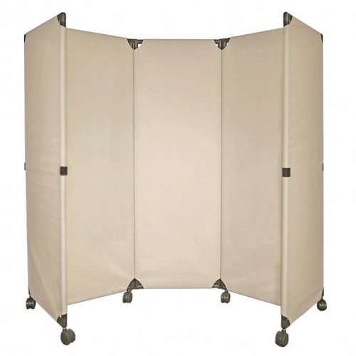 MP10 Economical Folding Portable Partition 6' x 6' Beige Canvas