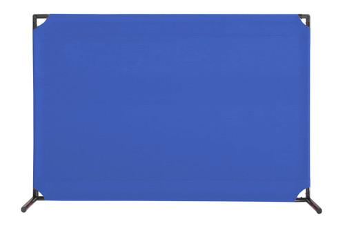 VP4 Two-Position Economical Partition 4' x 6' Blue  Canvas