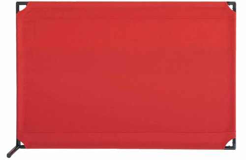 VP4 Two-Position Economical Partition 4' x 6' Red Canvas