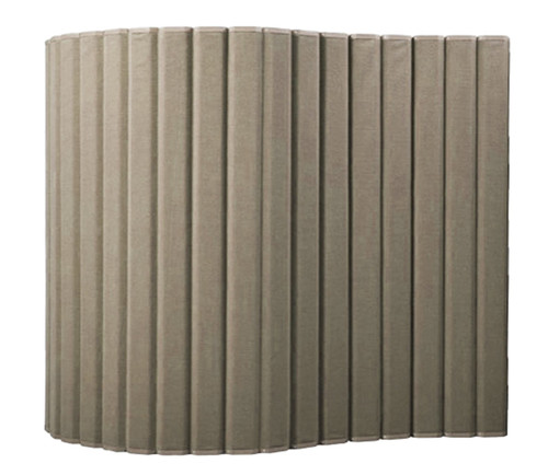 "VersiPanel Acoustical Partition Wall 8' x 6'6"" Beige Fabric"
