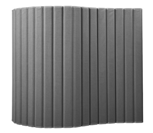 "VersiPanel Acoustical Partition Wall 8' x 6'6"" Gray Fabric"