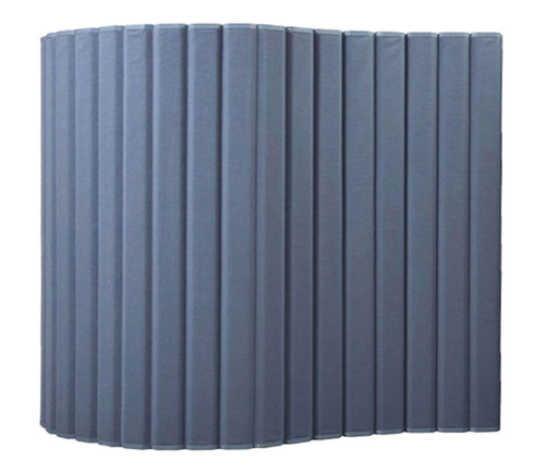 """VersiPanel Acoustical Partition Wall 8' x 6'6"""" Powder Blue Fabric"""
