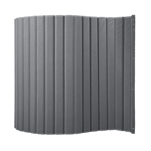 The VersiPanel with a the gray fabric.