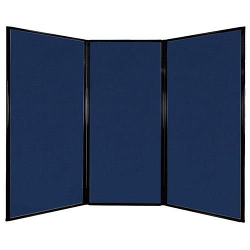 """Privacy Screen 7'6"""" x 5'10"""" Navy Blue Fabric"""