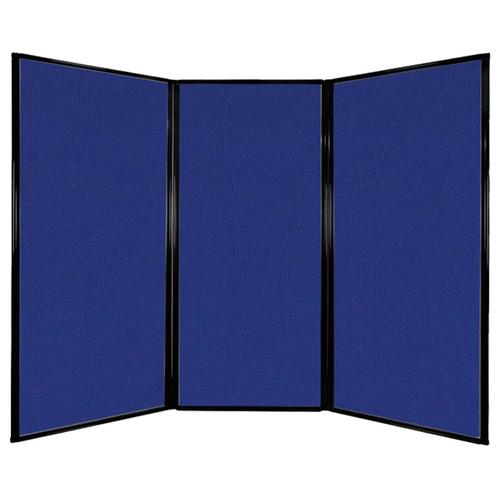 "Privacy Screen 7'6"" x 5'10"" Royal Blue Fabric"