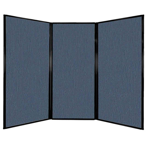 "Privacy Screen 7'6"" x 5'10"" Ocean Fabric"