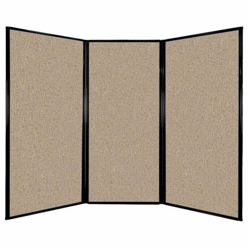 "Privacy Screen 7'6"" x 5'10"" Rye Fabric"