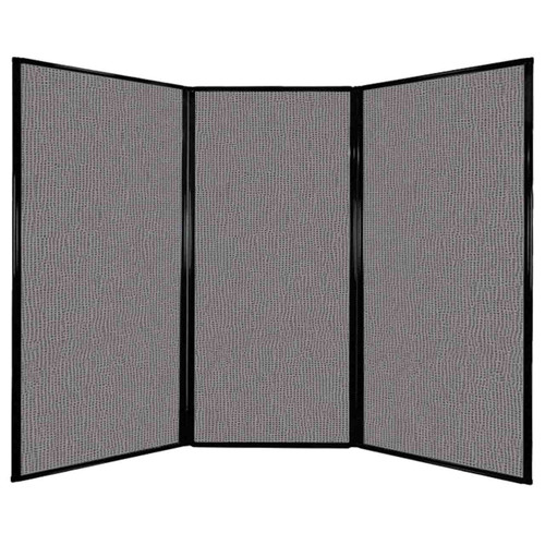 "Privacy Screen 7'6"" x 5'10"" Slate Fabric"