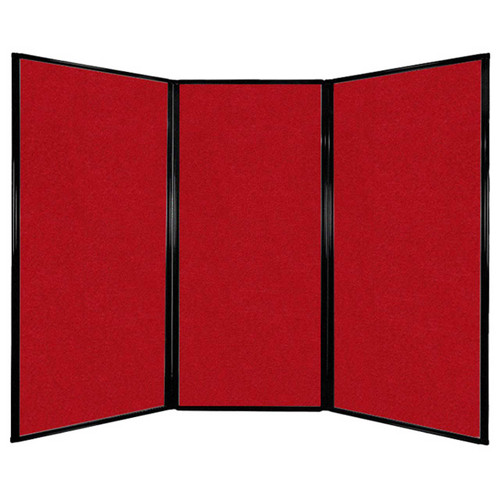 """Privacy Screen 7'6"""" x 5'10"""" Red Fabric"""