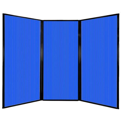 "Privacy Screen 7'6"" x 5'10"" Blue Poly Polycarbonate"