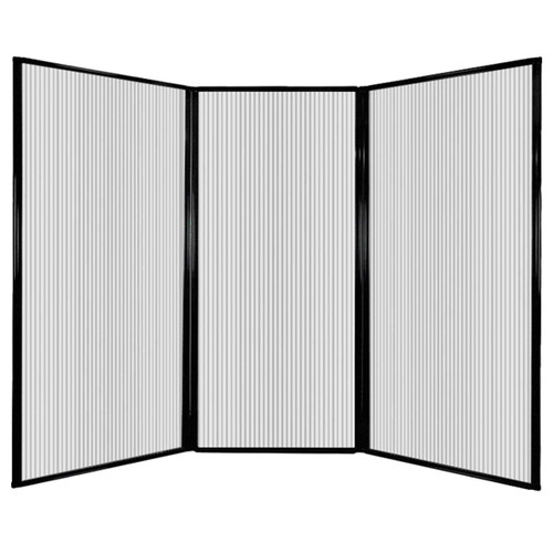 "MediWall Privacy Screen 7'6"" x 5'10"" Clear Polycarbonate"