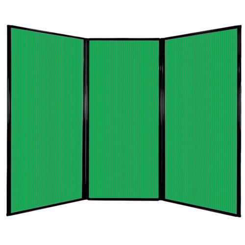 "Privacy Screen 7'6"" x 5'10"" Green Poly Polycarbonate"