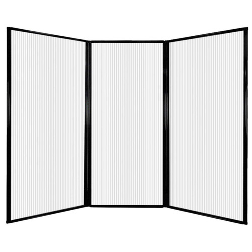 "MediWall Privacy Screen 7'6"" x 5'10"" Opal Polycarbonate"