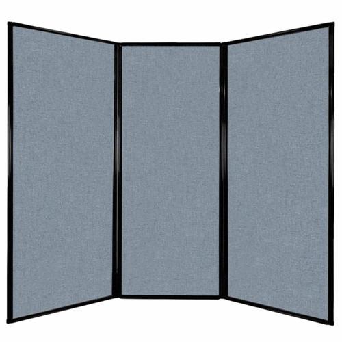 "Privacy Screen 7'6"" x 6'8"" Powder Blue Fabric"