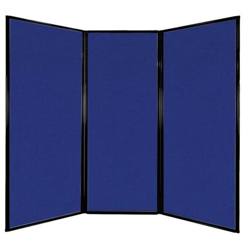 "Privacy Screen 7'6"" x 6'8"" Royal Blue Fabric"