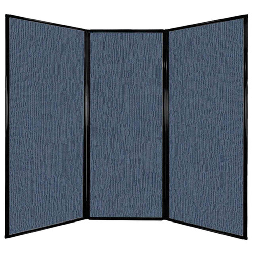 "Privacy Screen 7'6"" x 6'8"" Ocean Fabric"