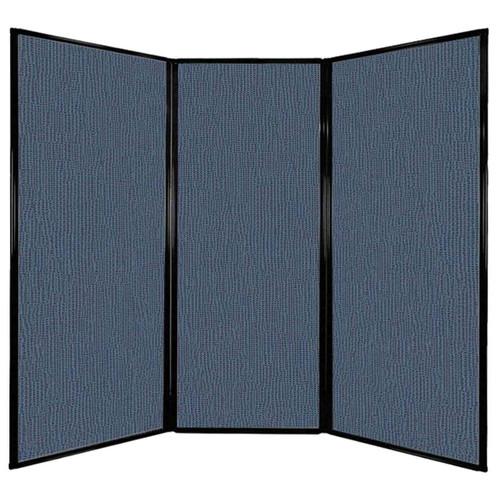 "Privacy Screen 7'6"" x 6'8"" Ocean Fabric"