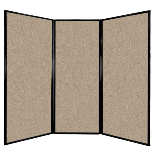 "Privacy Screen 7'6"" x 6'8"" Rye Fabric"