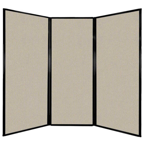 """Privacy Screen 7'6"""" x 6'8"""" Sand Fabric"""