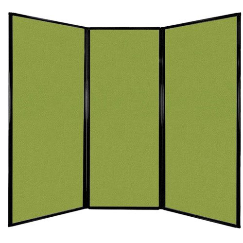 """Privacy Screen 7'6"""" x 6'8"""" Lime Green Fabric"""
