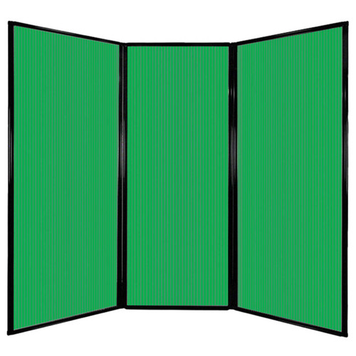 """Privacy Screen 7'6"""" x 6'8"""" Green Poly Polycarbonate"""