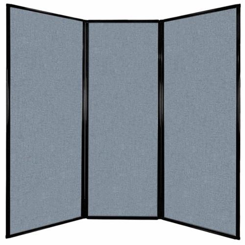 "Privacy Screen 7'6"" x 7'4"" Powder Blue Fabric"