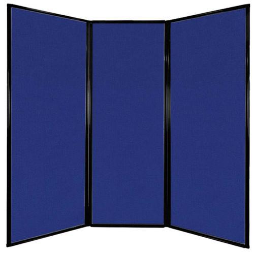 "Privacy Screen 7'6"" x 7'4"" Royal Blue Fabric"