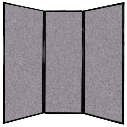 "Privacy Screen 7'6"" x 7'4"" Cloud Gray Fabric"