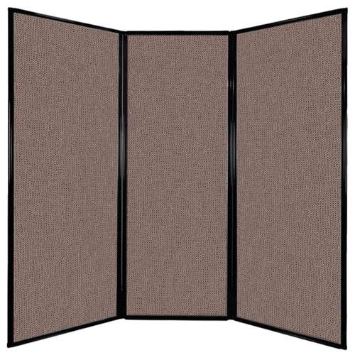 "Privacy Screen 7'6"" x 7'4"" Latte Fabric"