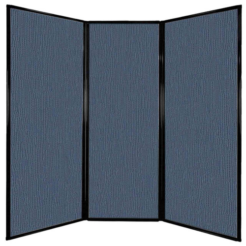"Privacy Screen 7'6"" x 7'4"" Ocean Fabric"