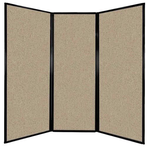 "Privacy Screen 7'6"" x 7'4"" Rye Fabric"