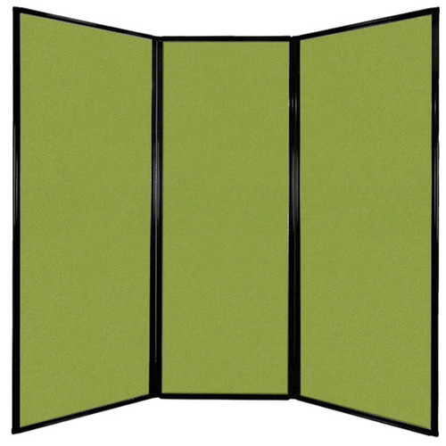"""Privacy Screen 7'6"""" x 7'4"""" Lime Green Fabric"""