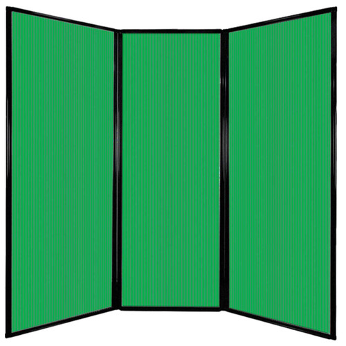 "Privacy Screen 7'6"" x 7'4"" Green Poly Polycarbonate"
